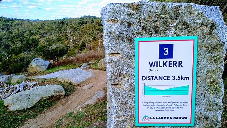 Trailstone 03: Wilkerr