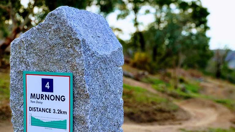 04 Murnong Trailstone